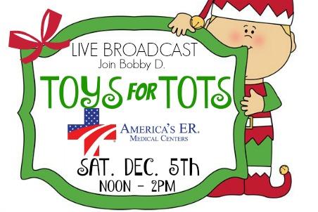 Americas ER Toys for Tots 12-05-15