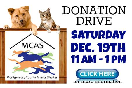 MCAS Donation Drive 12-19-15