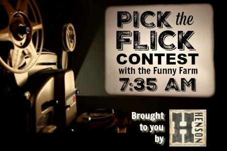 Pick the Flick Contest