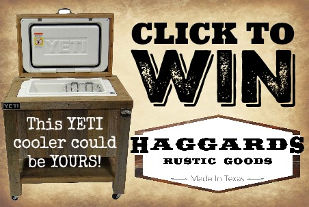 Click to Win Yeti Cooler - Haggards