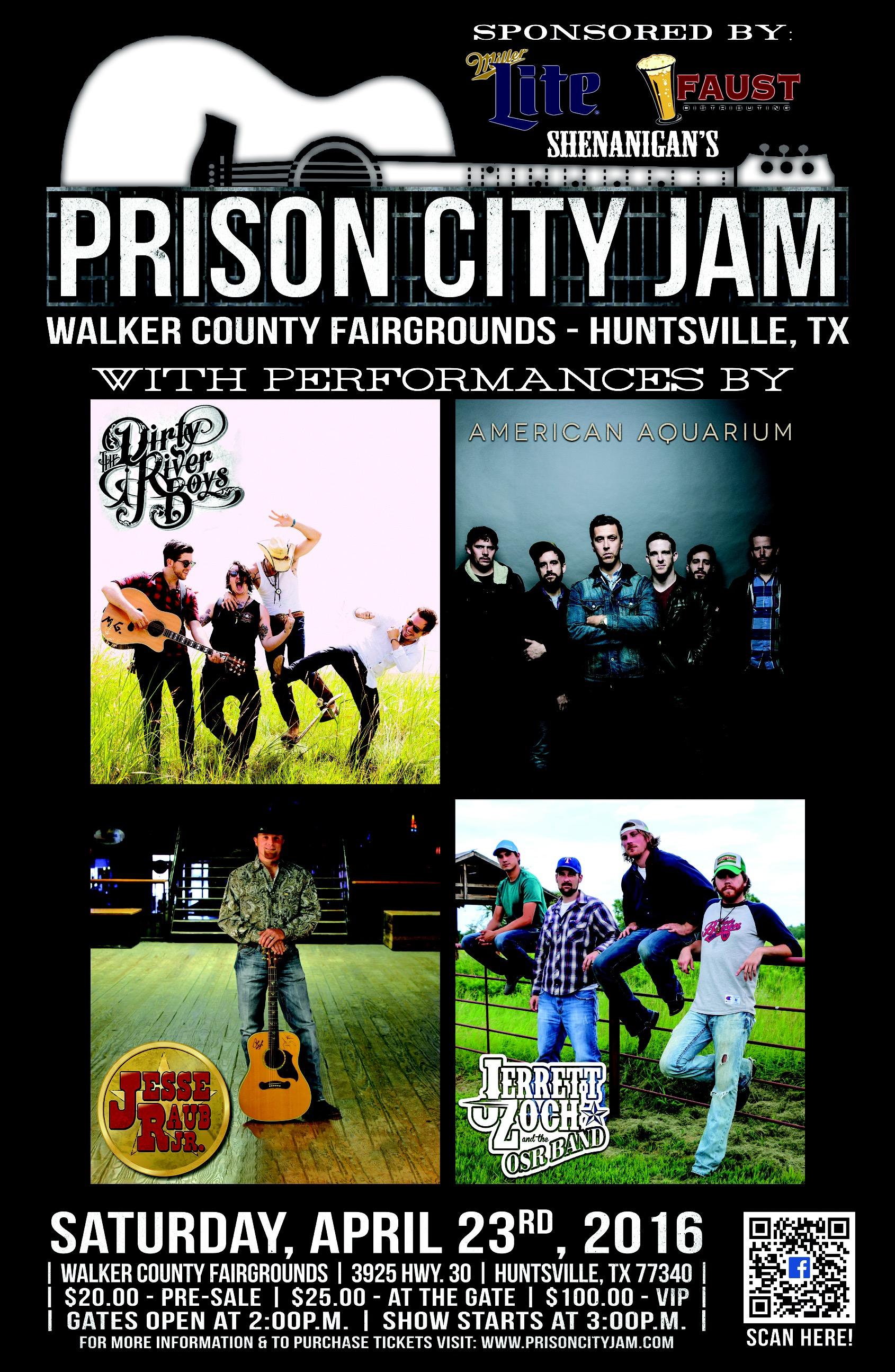 Prison City Jam Poster