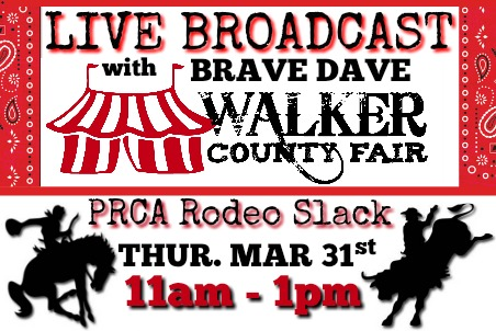 Walker County Fair PRCA Rodeo Slack 03-31-16