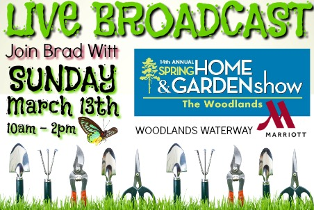 Woodlands Spring Home and Garden Show 03-13-16