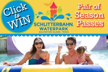 Click to Win Schlitterbahn Season Passes