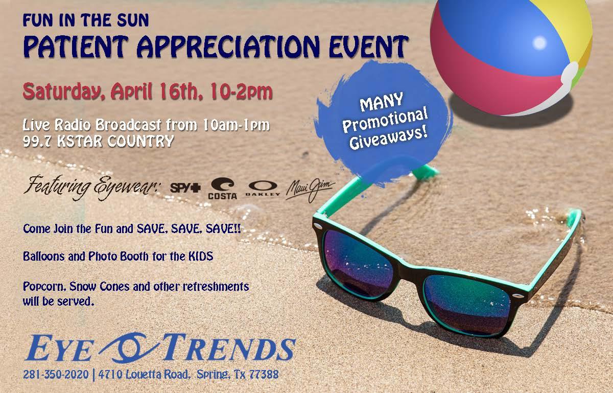Eye Trends Patient Appreciation Event 04-16-16