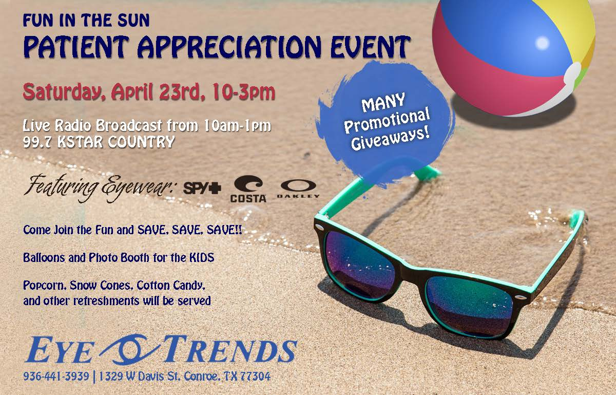 Eye Trends Patient Appreciation Event 04-23-16