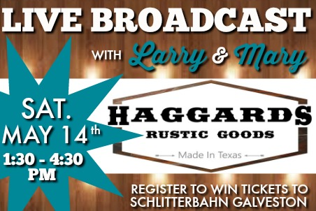 Haggards Rustic Goods 05-14-16
