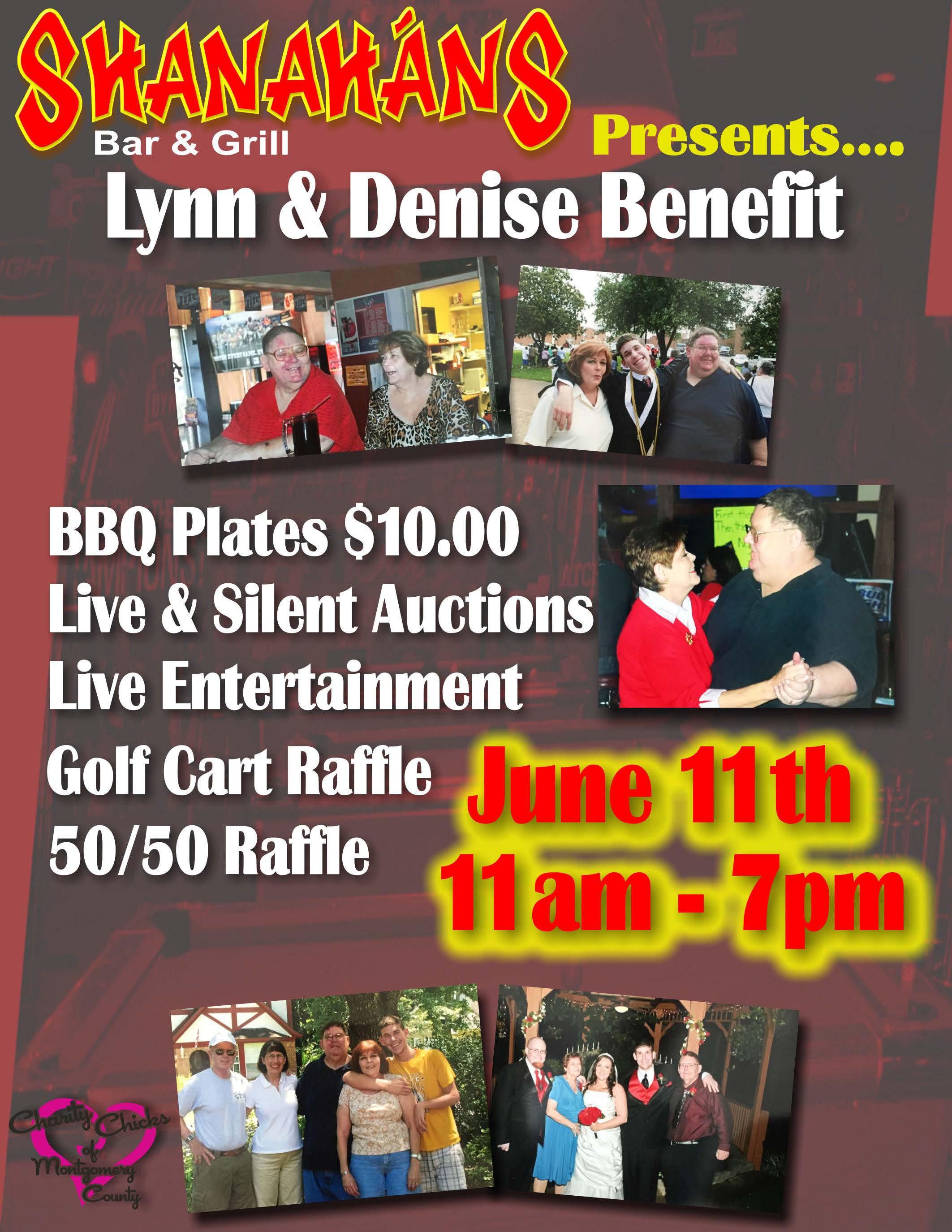 Lynn & Denise Benefit