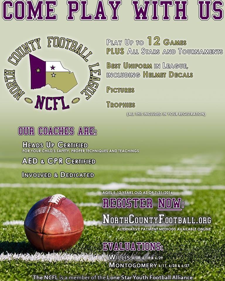 NCFL Registration
