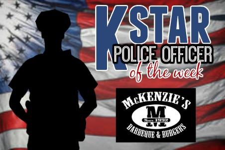 KSTAR Police Officer of the Week