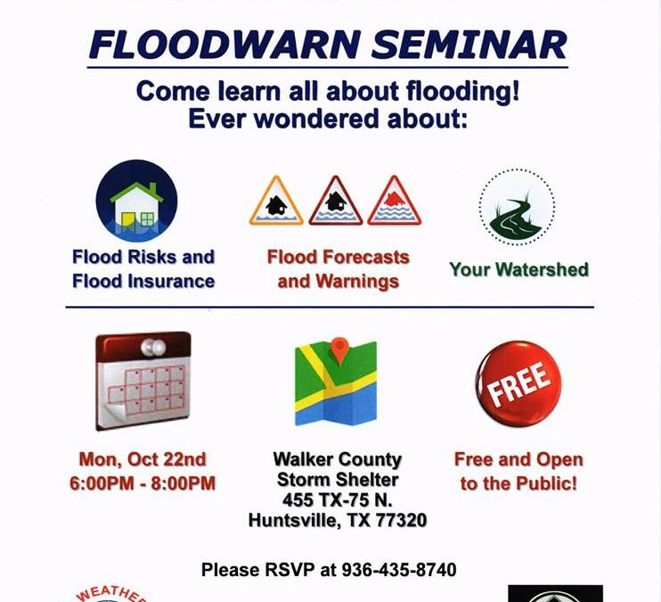 Walker County Floodwarn Seminar