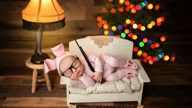 'A Christmas Story' baby photoshoot upsets the internet