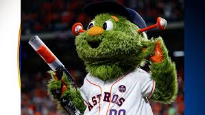 Woman Suing Houston Astros Because Mascot Shot Her With T-Shirt Cannon