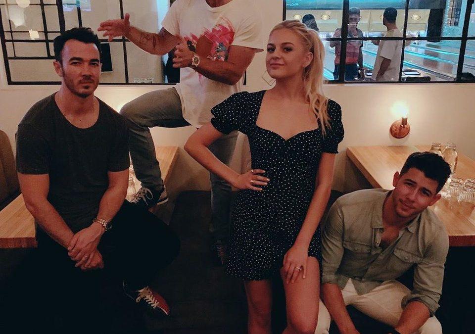 Kelsea Ballerini Finally Met the Jonas Brothers and Gave us This Cute Gem