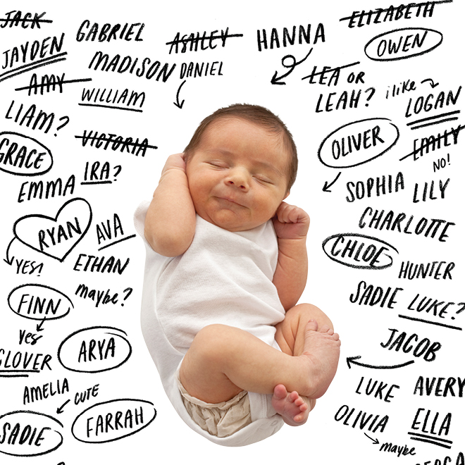 The Most Popular Baby Names of 2019