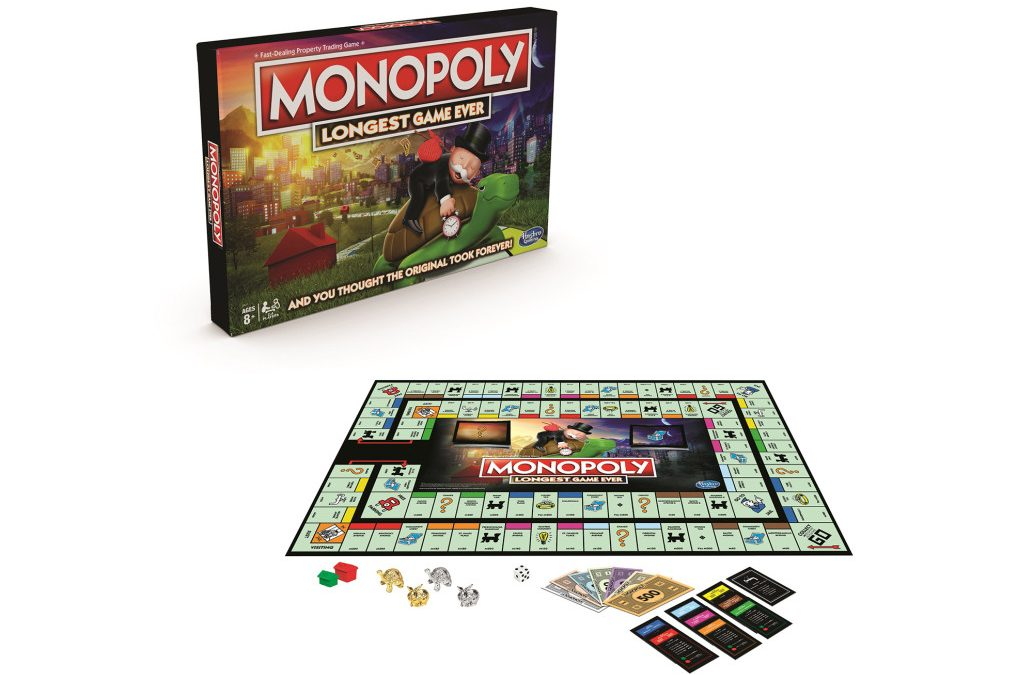 Hasbro Has Released a New, Longer Version of Monopoly