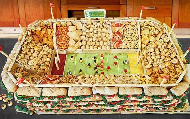 We Eat A LOT on Super Bowl Sunday!