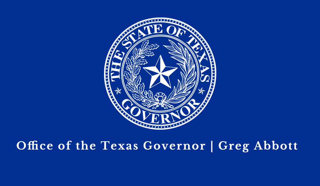 Governor Abbott Announces Federal Stimulus Package To Help Texans Affected By COVID-19