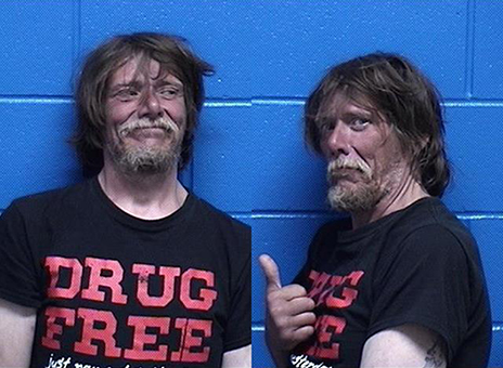 """Drug Free"" Man Arrested for Drug Free Possession"