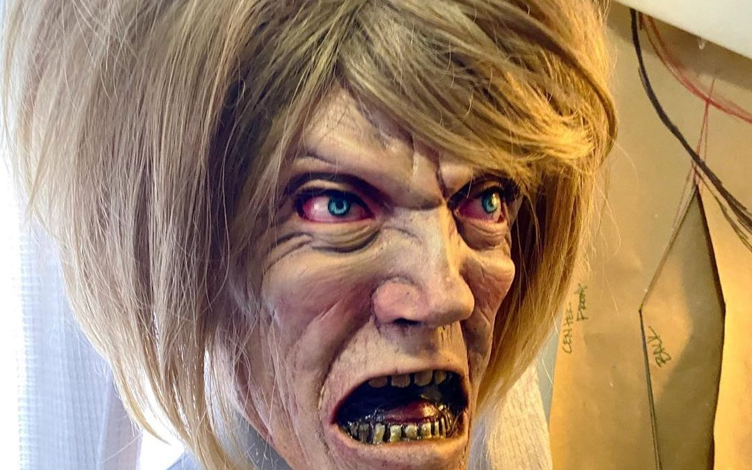 "A Genuinely Terrifying ""Karen"" Halloween Mask Has Arrived"