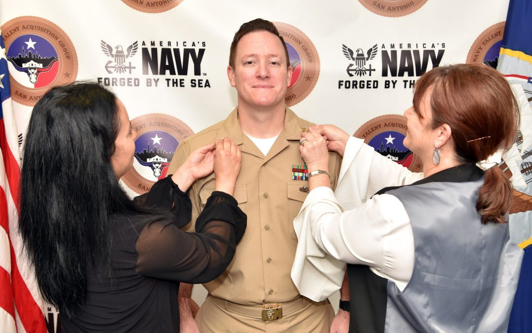 Navy Diver 1st Class Scott Hubbard of Spring, Texas
