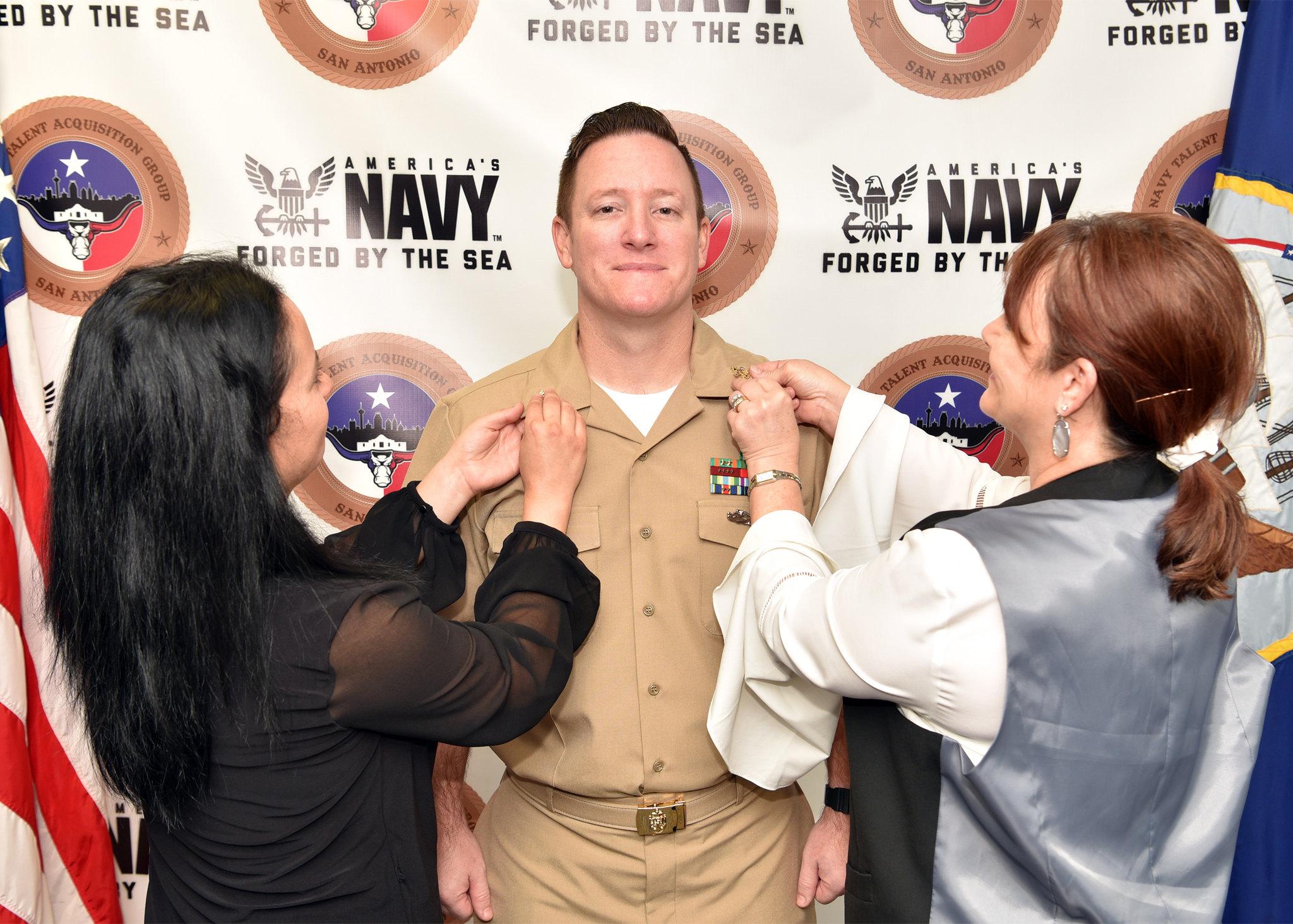 U.S. Navy Photo by Burrell Parmer, NTAG San Antonio Public Affairs/Released