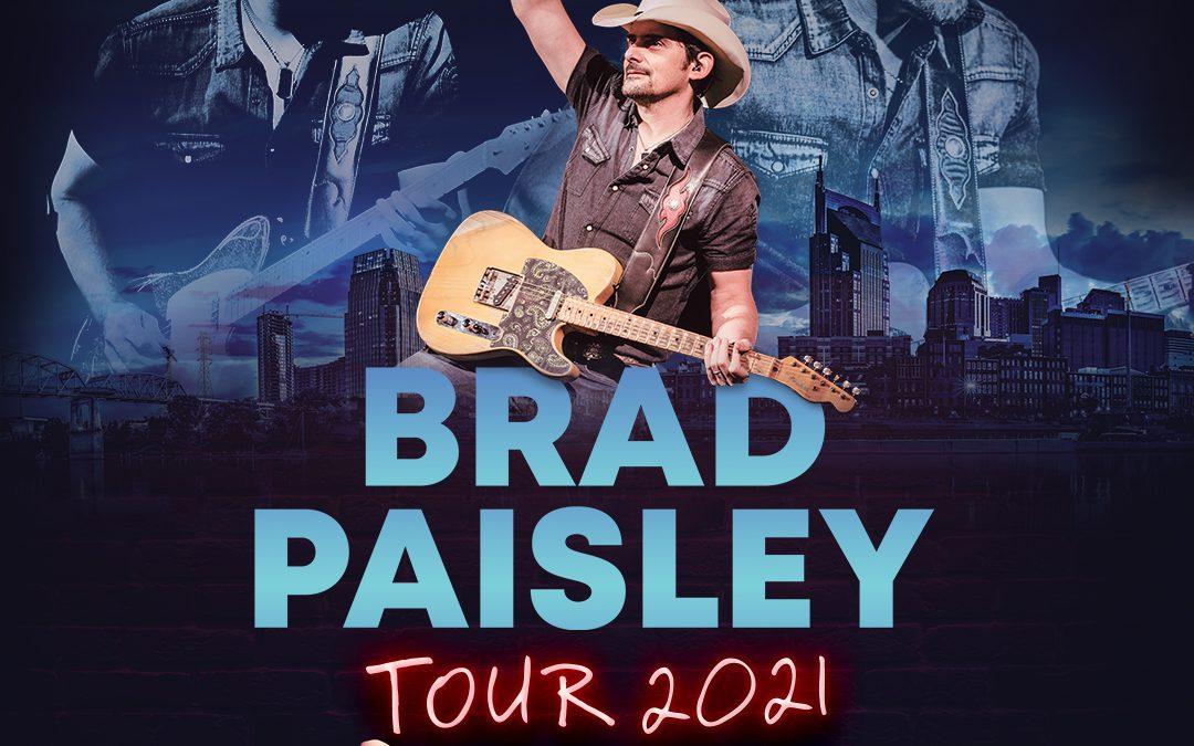 Concert Announcement: Brad Paisley at CWMP