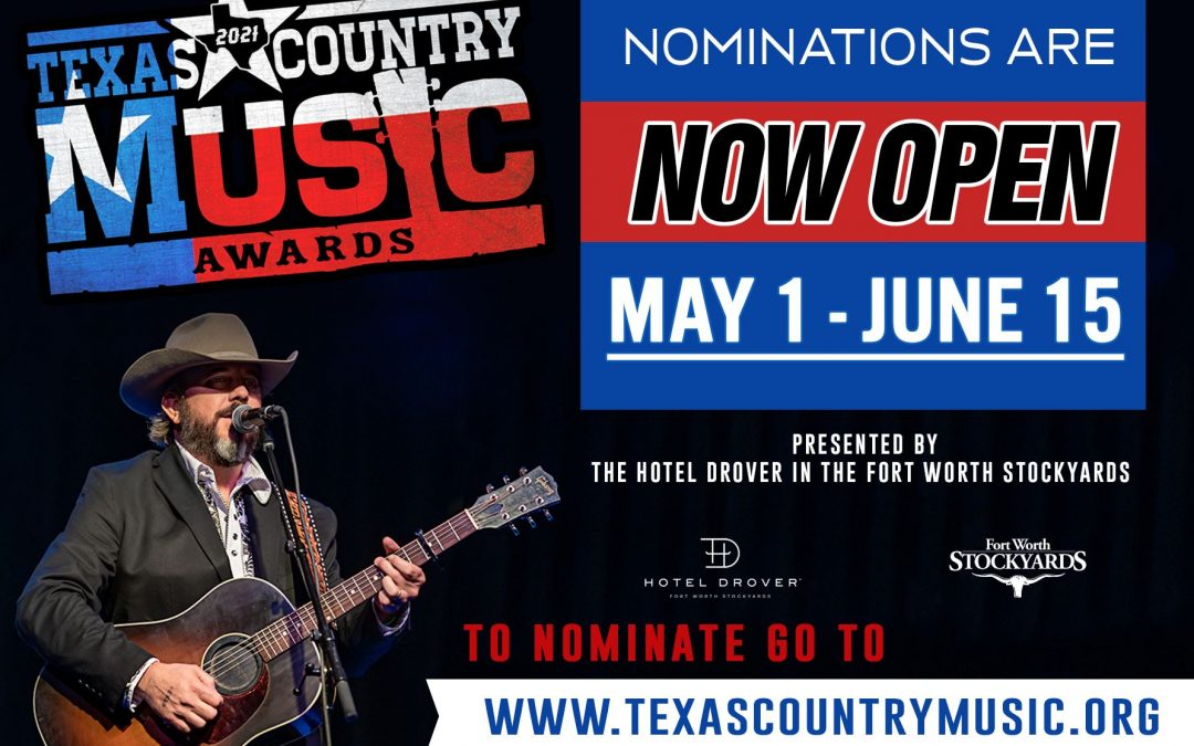 Texas Country Music Awards Nominations are Open