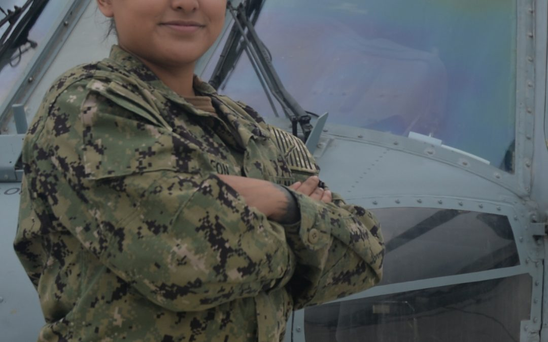 Hockley native serves with Helicopter Squadron in San Diego