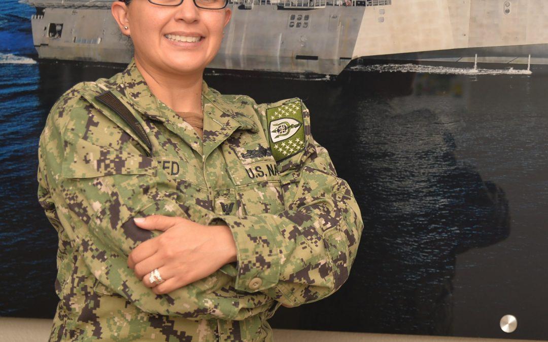Spring native serves the U.S. Navy in San Diego